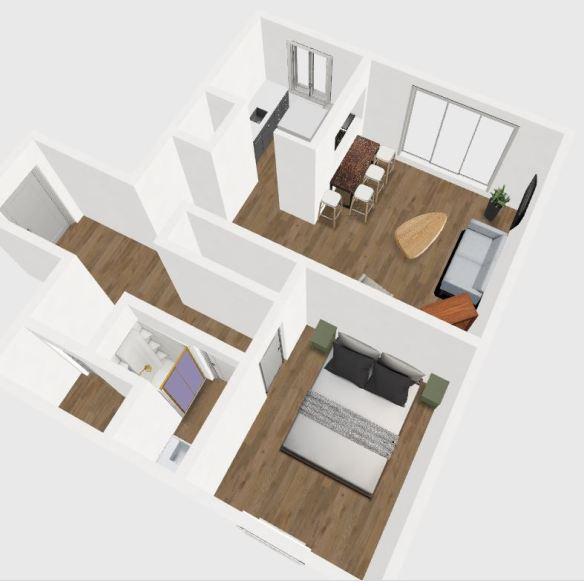 Plan 3D Petit Montmartre